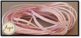 Lacet Baby Pink 1 mm