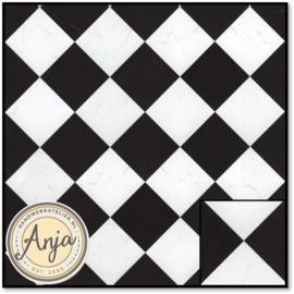5881 Black & White Marble Tile