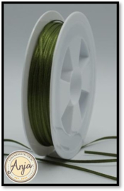 299 Sage Green Satijnlint 1.5 mm