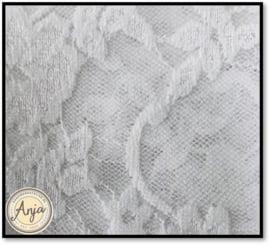 TKG6819-01 Soepel wit kant