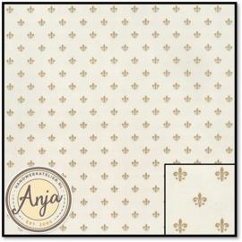 879820 Princess Fleur de Lys Beige