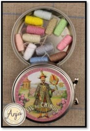 Baby cocoons tins Fil au Chinois pastel kleuren