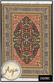 D698C Turkish Carpet Green
