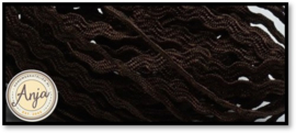 Zigzagband 2,5 mm Brown