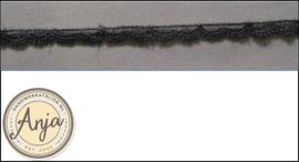 Kant zwart smal kt0719-15