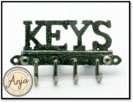 Rek voor sleutels of jassen OA137