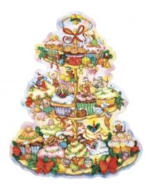 11665 XXL Adventskalender: Kerst Cupcake