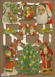 Kerst en kerstmannetjes Poëzie Plaatjes 7218