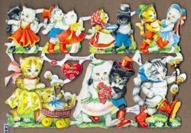 Verliefde kattenstelletjes poëzieplaatjes 7033