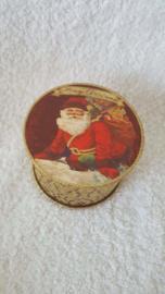 Kerstman met cadeautjes - doosje met zeep
