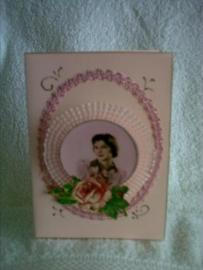 Oude kaart met uitklapplaatje en poezieplaatje [kaart]