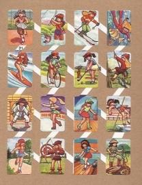 Zulia 21 oude Spaanse poezieplaatjes Sporten