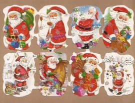 Kruger Kerst poezieplaatjes met glitter 1