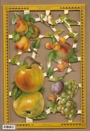 Appels, peren e.a. fruit poezieplaatjes A 143