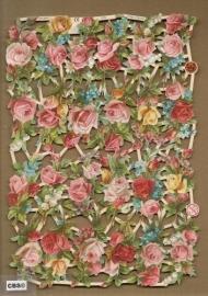 Kleine roosjes poezieplaatjes 7278
