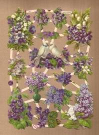 Seringen & Maartse viooltjes poezieplaatjes 7367