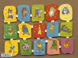Edivas Mini Walt Disney 61 Spaanse poezieplaatjes