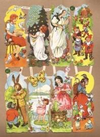 Acht sprookjes o.a. Wolf & 7 geitjes poezieplaatjes 7115B