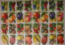 3155 EAS Dubbel Vel Allerlei Fruit Poezieplaatjes