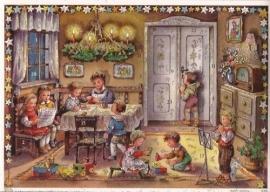10356 Gezelligheid op Kerstavond Adventskalender