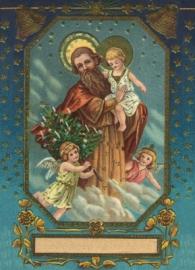 Engelen met Kindje Jezus Reliefkaart EF 3026