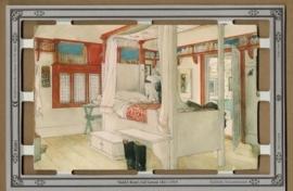 B5003 Daddy`s Room Carl Larsson poëzieplaatjes MLP
