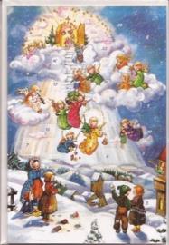 Adventskalender Kaart: Winternacht - 12294