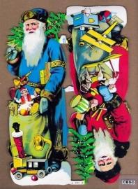 Super Kerstmannen poëzieplaatjes 7151