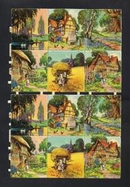 M.P. 800 Landschapjes poezieplaatjes (B)