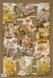 Bloemenkindertjes Cicely Mary Barker poezieplaatjes 1888