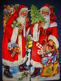 E.O. & Co 7000 Kerstmannen poezieplaatjes