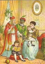 Sinterklaas is in het land prentbriefkaart [C11102]