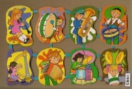 Maves Loroño groot Spaanse poezieplaatjes Muziek trom