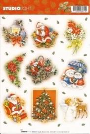 Christmas - Kerst stickers SL02