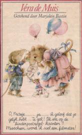 Vera de Muis Kinderpostzegel hoekje Libelle