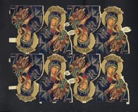 M.P. 899 Heiligen poezieplaatjes (NIET compleet)