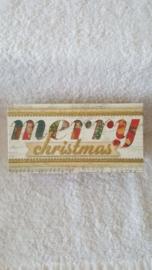 Merry  Christmas - doos met zeep en speeldoosje