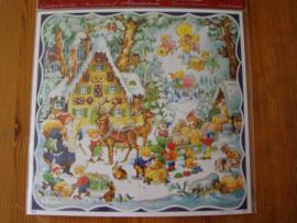 10413 XL Adventskalender: Kerstman bezoekt de dwergjes