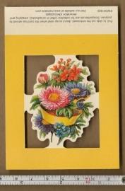 Poezieplaatje bloemboektetje EWC01322