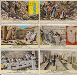 Liebig: De rollen van de Dode zee 1 t/m 6