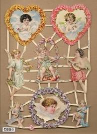 Harten engelen van Liefde Poëzieplaatjes GL7269