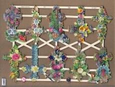 Kruis - Kruizen met bloemen Poëzie Plaatjes 7300