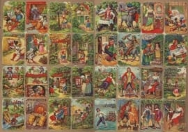 Mokta Williot Trade Cards Sprookjes poezieplaatjes 1584