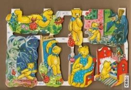 Avonturen met teddy poezieplaatjes MLP 1465