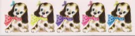 Hondjes poezieplaatjes Stickers Strip QT16