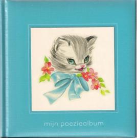 Poeziealbum Blauw