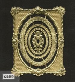 Frames - Schilderijlijstjes (4) gouden poëzieplaatjes 1192