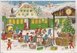 10394 Daar is de Kersttrein Adventskalender