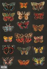 Poezieplaatjes los vlinders 7221