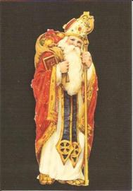 Sinterklaas poezieplaatje op prentbriefkaart [C6769]